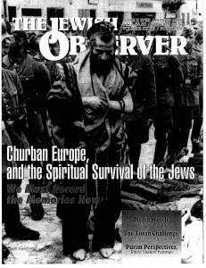 Jewish Observer Article